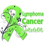 Lymphoma Survivor Ribbon Shirts