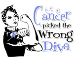 Stomach Cancer Picked The Wrong Diva Shirts