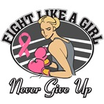 Fight Like a Girl Breast Cancer Shirts
