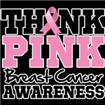 Think Pink Breast Cancer Awareness Shirts