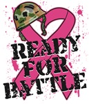 Ready For Battle Breast Cancer Shirts