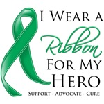 I Wear a Ribbon For My Hero Liver Cancer Shirts