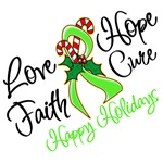 Holiday Hope Lymphoma Shirts and Gifts