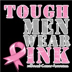 Tough Men Wear Pink Breast Cancer Shirts