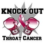 Knock Out Throat Cancer Shirts