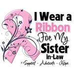 Sister-in-Law Pink Ribbon Breast Cancer Shirts