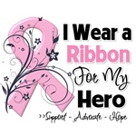 Hero Pink Ribbon Breast Cancer Shirts