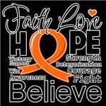 Faith Hope Leukemia Shirts