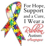 For Hope Autism Awareness Ribbon Shirts