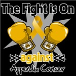 The Fight is On Against Appendix Cancer Shirts