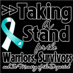 Taking a Stand Cervical Cancer Shirts