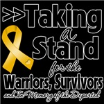 Taking a Stand Appendix Cancer Shirts