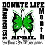 Donate Life Bone Marrow Donor Month Shirts