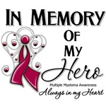 In Memory of My Hero Multiple Myeloma Shirts
