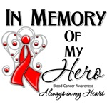 In Memory of My Hero Blood Cancer Shirts