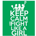 Liver Cancer Keep Calm and Fight Like a Girl
