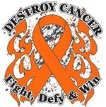 Destroy Leukemia Cancer Shirts and Gear