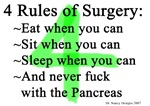 4 Rules of Surgery