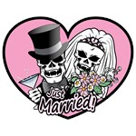 Just Married Skulls