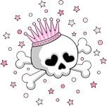 Cute Princess Skull