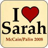I Heart Sarah Palin