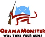 Obama Monster Will Take Your Guns
