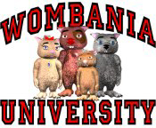 Wombania University Black & Red