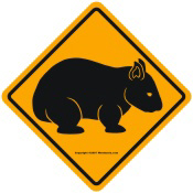 Wombat Sign II