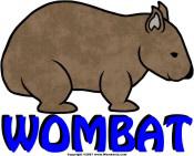 Wombat Logo III