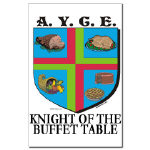 Knight of the Buffet Table