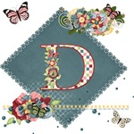 Dreamland Monogram D