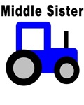 Middle Sister - Blue Tractor
