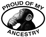 Proud of my Ancestry Chimp