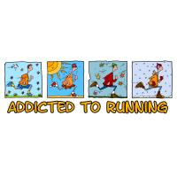 addicted to running (man)