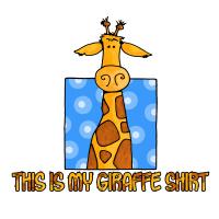 this is my giraffe shirt