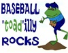 Baseball Toad-ally Rocks