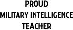 MILITARY INTELLIGENCE teacher