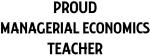 MANAGERIAL ECONOMICS teacher