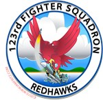 123rd Fighter Squadron- Fighting Redhawks 1