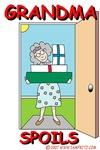 Grandma Spoils -Original