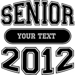 Customizable Senior 2012