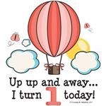 Hot Air Balloon 1st Birthday Party Ideas Gifts