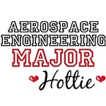 Aerospace Engineering Major Hottie T shirt Gifts