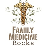 Family Medicine Rocks GP T shirt Gifts