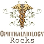 Ophthalmology Rocks Ophthalmologist T shirt Gifts