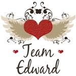 Twilight Team Edward T-shirt Tees Gifts