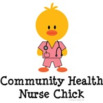 Community Health Nurse Chick T shirts Gifts