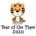 2010 Year of the Tiger T shirt Tees Gifts