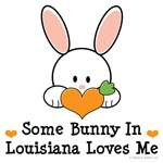 Some Bunny In Louisiana Loves Me T-shirt Gifts