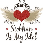 Winged Heart Siobhan Is My Idol T Shirt Tees Gifts